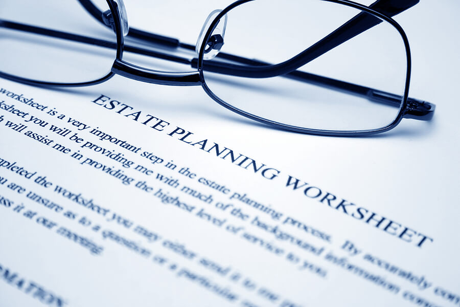Estate Planning Retirement Benefits – Retirement Planning Worksheet